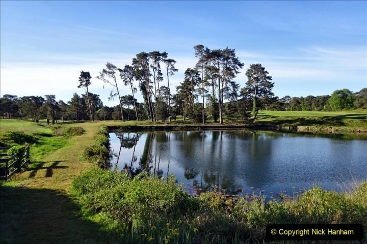 2020-05-04 Covid 19 walk Parkstone Golf Club Poole, Dorset.  (38) 038