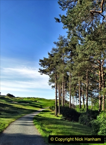 2020-05-04 Covid 19 walk Parkstone Golf Club Poole, Dorset.  (45) 045
