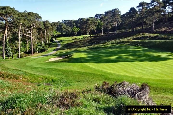 2020-05-04 Covid 19 walk Parkstone Golf Club Poole, Dorset.  (46) 046