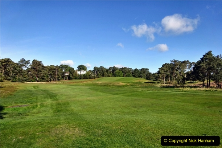 2020-05-04 Covid 19 walk Parkstone Golf Club Poole, Dorset.  (55) 055