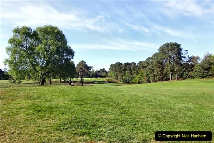 2020-05-04 Covid 19 walk Parkstone Golf Club Poole, Dorset.  (59) 059
