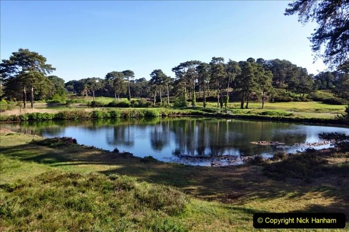 2020-05-04 Covid 19 walk Parkstone Golf Club Poole, Dorset.  (62) 062