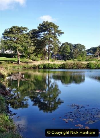 2020-05-04 Covid 19 walk Parkstone Golf Club Poole, Dorset.  (63) 063