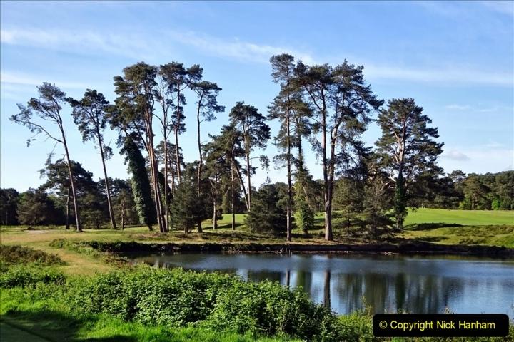 2020-05-04 Covid 19 walk Parkstone Golf Club Poole, Dorset.  (68) 068