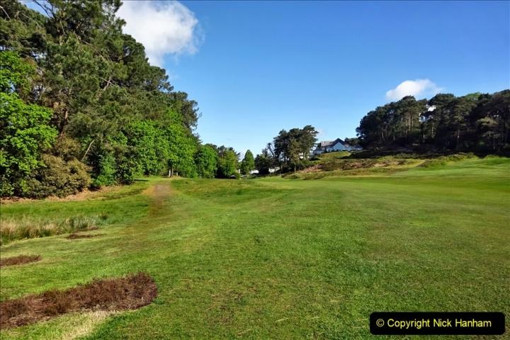 2020-05-04 Covid 19 walk Parkstone Golf Club Poole, Dorset.  (72) 072