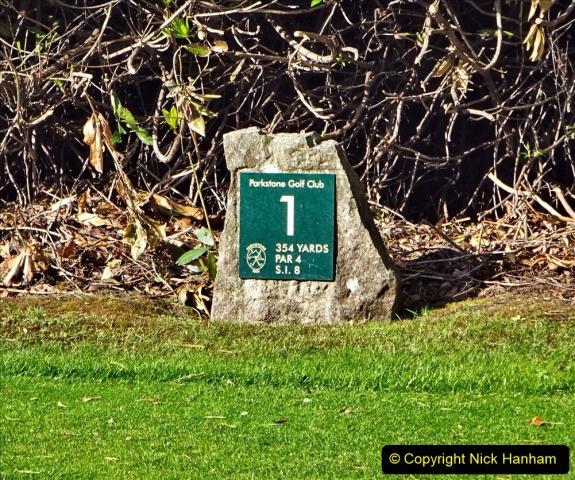2020-05-04 Covid 19 walk Parkstone Golf Club Poole, Dorset.  (76) 076