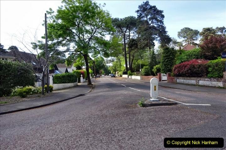 2020-05-04 Covid 19 walk Parkstone Golf Club Poole, Dorset.  (78) 078