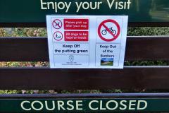 2020-05-04 Covid 19 walk Parkstone Golf Club Poole, Dorset.  (11) 011