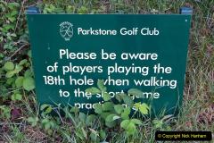 2020-05-04 Covid 19 walk Parkstone Golf Club Poole, Dorset.  (21) 021