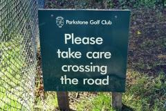 2020-05-04 Covid 19 walk Parkstone Golf Club Poole, Dorset.  (43) 043