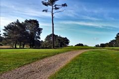2020-05-04 Covid 19 walk Parkstone Golf Club Poole, Dorset.  (50) 050
