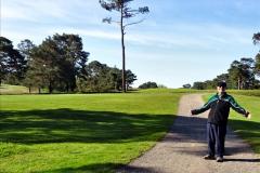 2020-05-04 Covid 19 walk Parkstone Golf Club Poole, Dorset.  (52) 052