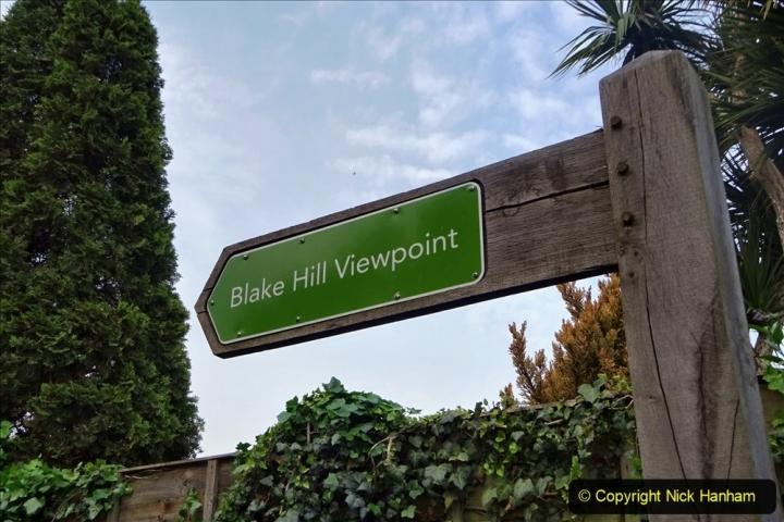 2020 05 10 Covid 19 walk Lilliput Evening Hill Luscombe Vale (2) 002