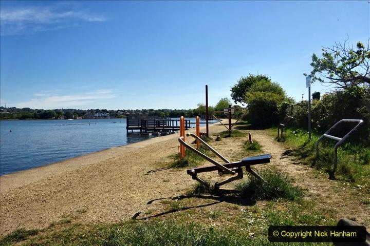 2020-05-18 Covid 19 Walks Circumnavigation of Poole Park, Poole, Dorset. (105) 105