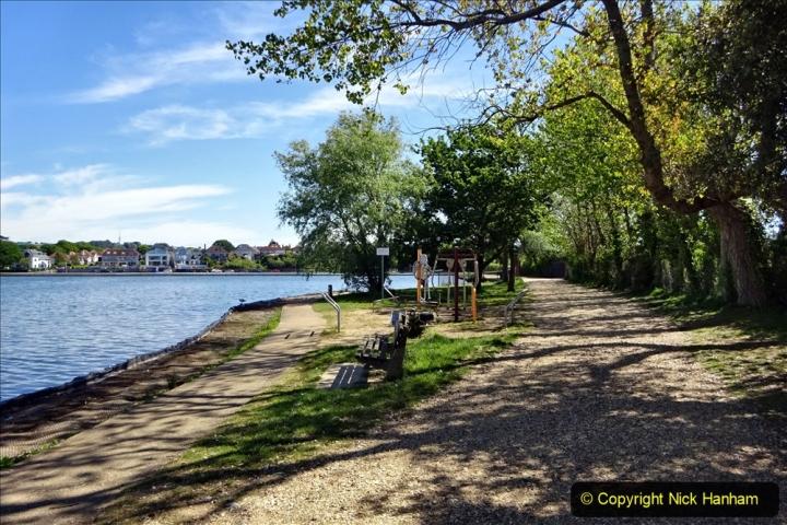 2020-05-18 Covid 19 Walks Circumnavigation of Poole Park, Poole, Dorset. (117) 117