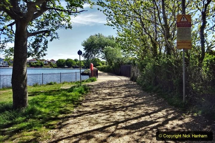 2020-05-18 Covid 19 Walks Circumnavigation of Poole Park, Poole, Dorset. (118) 118