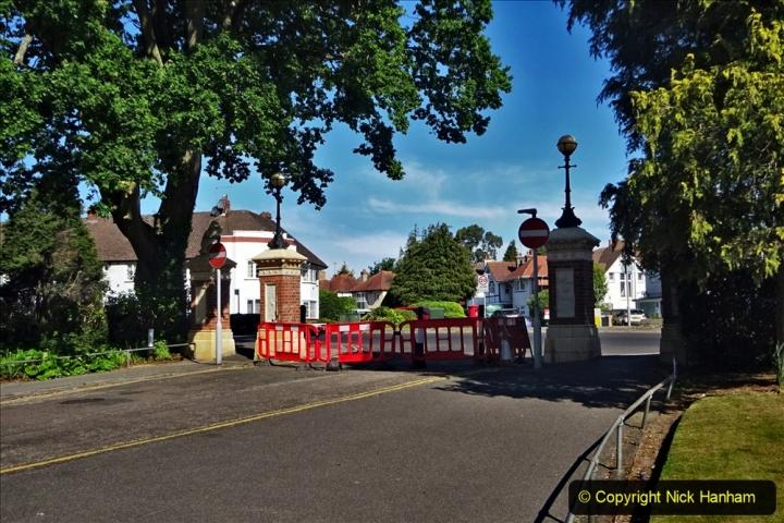 2020-05-18 Covid 19 Walks Circumnavigation of Poole Park, Poole, Dorset. (26) 026