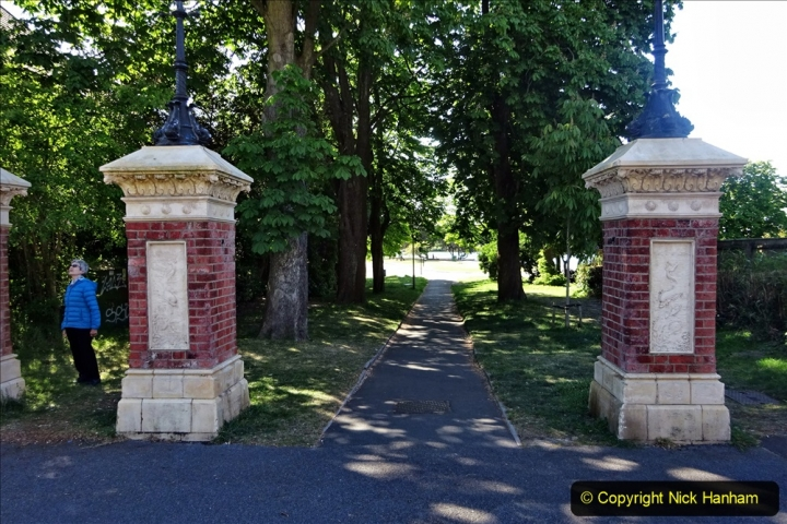 2020-05-18 Covid 19 Walks Circumnavigation of Poole Park, Poole, Dorset. (47) 047