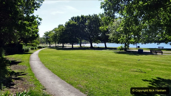 2020-05-18 Covid 19 Walks Circumnavigation of Poole Park, Poole, Dorset. (60) 060