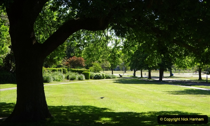 2020-05-18 Covid 19 Walks Circumnavigation of Poole Park, Poole, Dorset. (72) 072