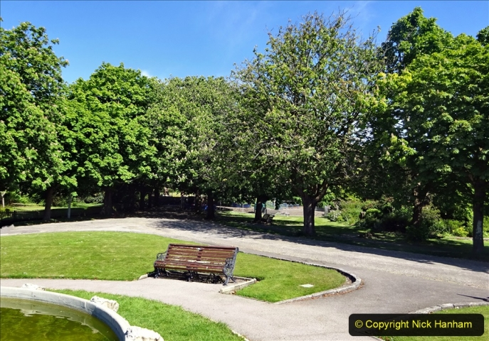 2020-05-18 Covid 19 Walks Circumnavigation of Poole Park, Poole, Dorset. (96) 096