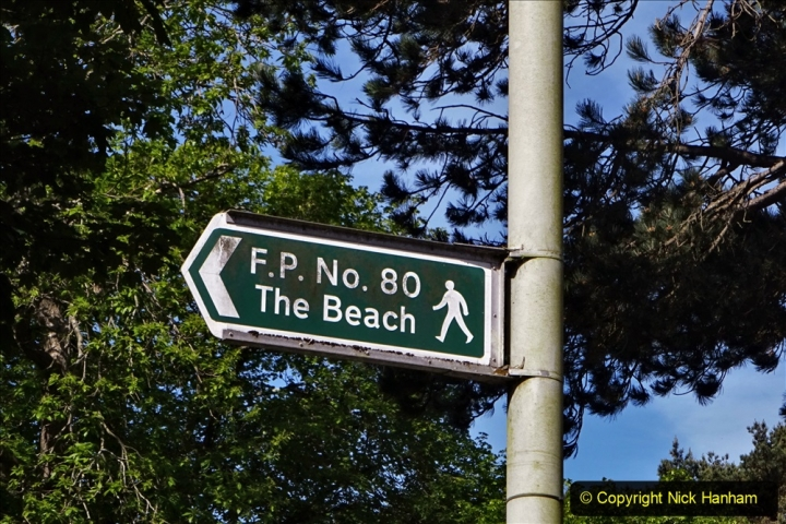 2020-05-20 Covid 19 Walk to the beach at Branksome Chine, Poole, Dorset. (1) 001
