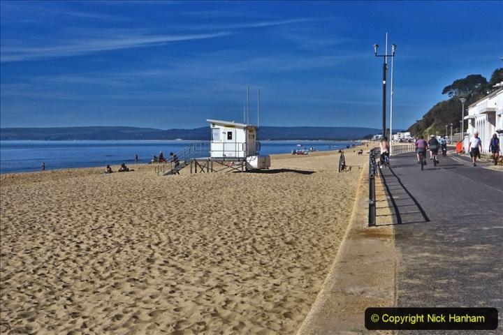 2020-05-20 Covid 19 Walk to the beach at Branksome Chine, Poole, Dorset. (11) 011