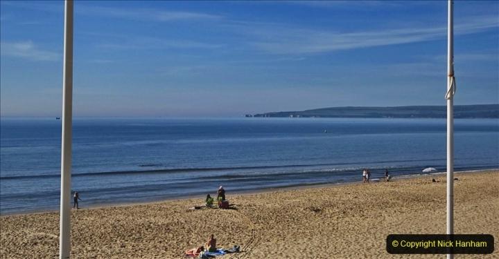 2020-05-20 Covid 19 Walk to the beach at Branksome Chine, Poole, Dorset. (13) 013
