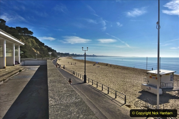 2020-05-20 Covid 19 Walk to the beach at Branksome Chine, Poole, Dorset. (17) 017