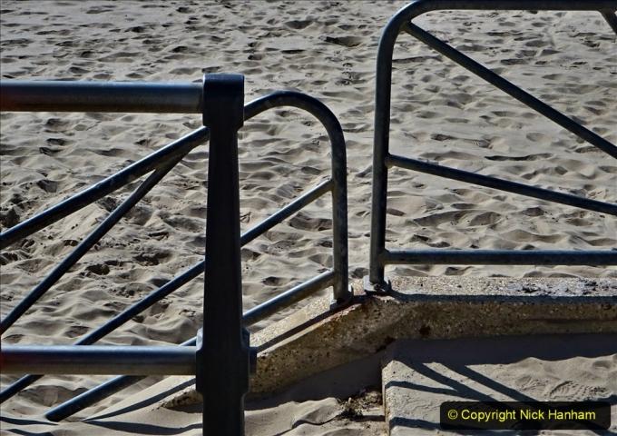 2020-05-20 Covid 19 Walk to the beach at Branksome Chine, Poole, Dorset. (21) 021