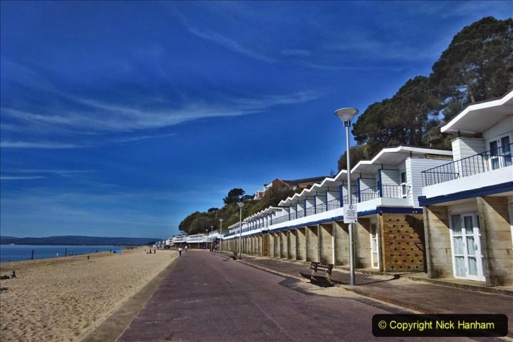 2020-05-20 Covid 19 Walk to the beach at Branksome Chine, Poole, Dorset. (23) 023