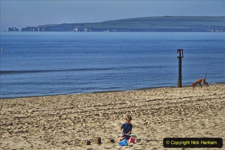 2020-05-20 Covid 19 Walk to the beach at Branksome Chine, Poole, Dorset. (24) 024