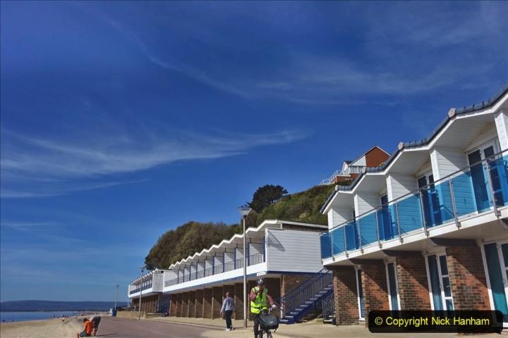 2020-05-20 Covid 19 Walk to the beach at Branksome Chine, Poole, Dorset. (25) 025