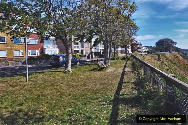 2020-05-20 Covid 19 Walk to the beach at Branksome Chine, Poole, Dorset. (43) 043
