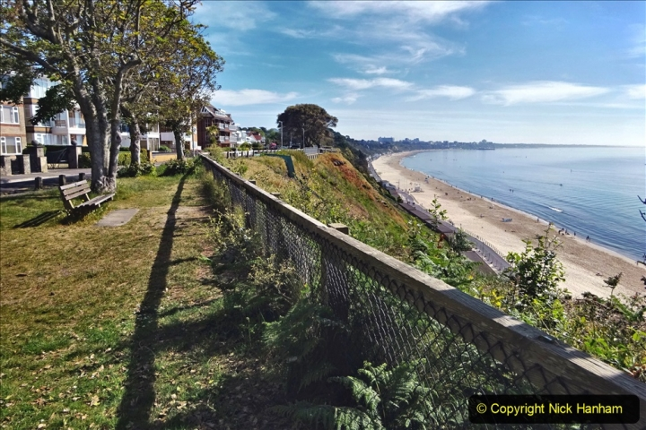 2020-05-20 Covid 19 Walk to the beach at Branksome Chine, Poole, Dorset. (44) 044