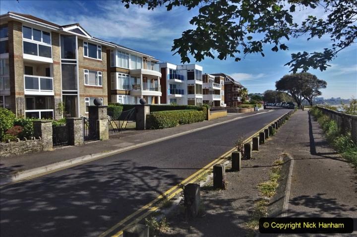2020-05-20 Covid 19 Walk to the beach at Branksome Chine, Poole, Dorset. (45) 045