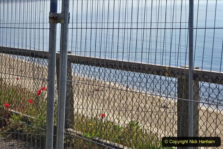 2020-05-20 Covid 19 Walk to the beach at Branksome Chine, Poole, Dorset. (48) 048