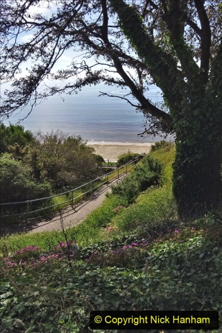 2020-05-20 Covid 19 Walk to the beach at Branksome Chine, Poole, Dorset. (52) 052