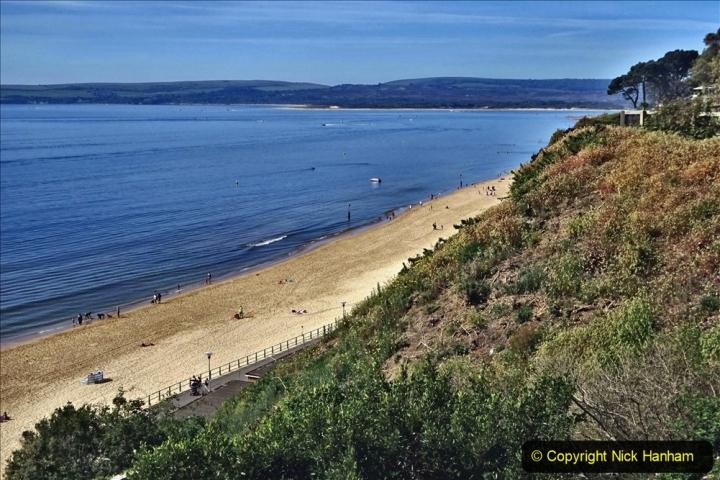2020-05-20 Covid 19 Walk to the beach at Branksome Chine, Poole, Dorset. (55) 055