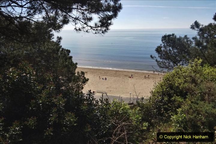 2020-05-20 Covid 19 Walk to the beach at Branksome Chine, Poole, Dorset. (59) 059