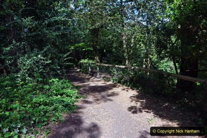 2020-05-20 Covid 19 Walk to the beach at Branksome Chine, Poole, Dorset. (63) 063