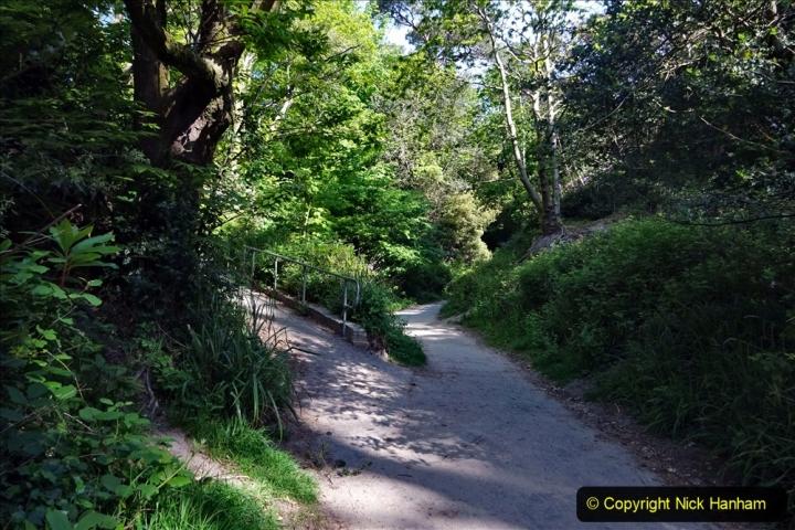 2020-05-20 Covid 19 Walk to the beach at Branksome Chine, Poole, Dorset. (7) 007