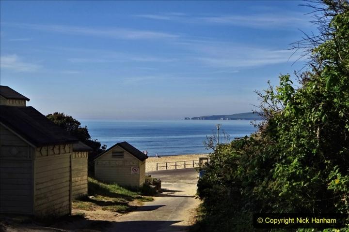 2020-05-20 Covid 19 Walk to the beach at Branksome Chine, Poole, Dorset. (8) 008