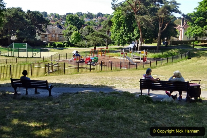 2020_05_26 Covid 19 Walk Alexandra Park, Parkstone, Poole, Dorset. (53) 053