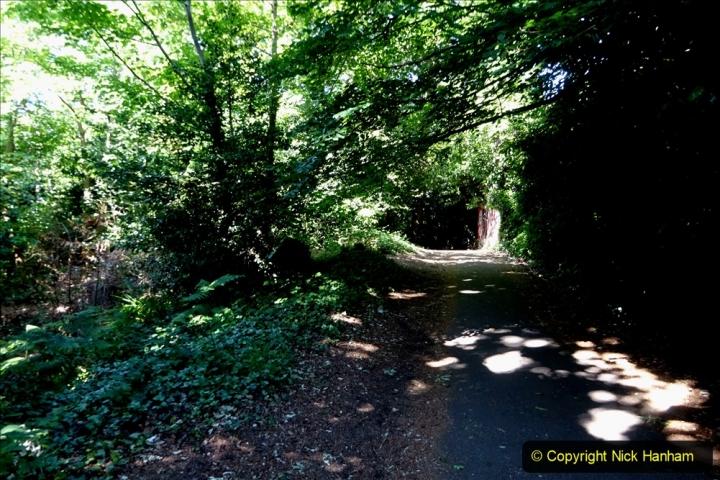 2020-05-27 Covid 19 Walks Alum Chine - Robert Louis Stevenson - View Point - Parkstone Heights. (101) 101