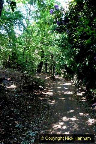 2020-05-27 Covid 19 Walks Alum Chine - Robert Louis Stevenson - View Point - Parkstone Heights. (102) 102