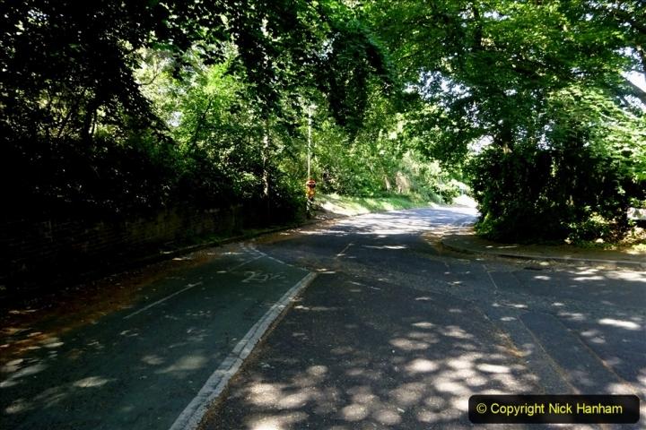 2020-05-27 Covid 19 Walks Alum Chine - Robert Louis Stevenson - View Point - Parkstone Heights. (108) 108
