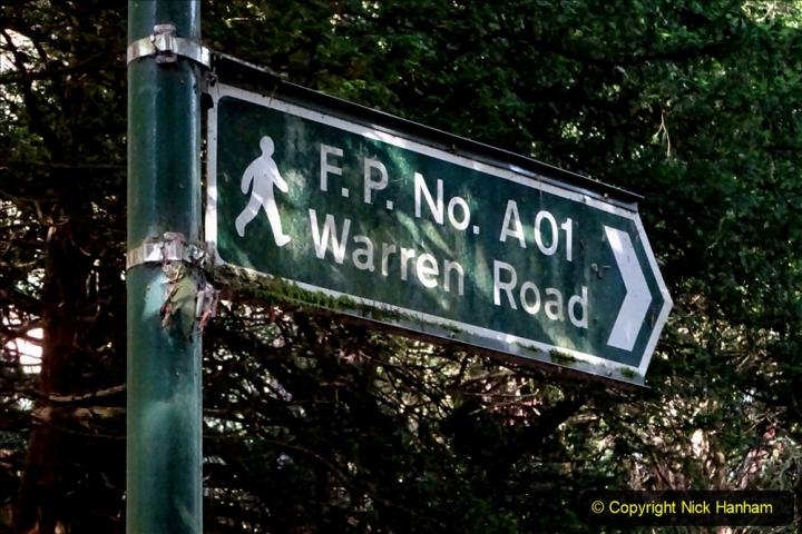 2020-05-27 Covid 19 Walks Alum Chine - Robert Louis Stevenson - View Point - Parkstone Heights. (11) 011
