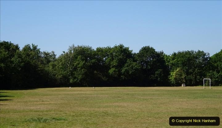 2020-05-27 Covid 19 Walks Alum Chine - Robert Louis Stevenson - View Point - Parkstone Heights. (110) 110