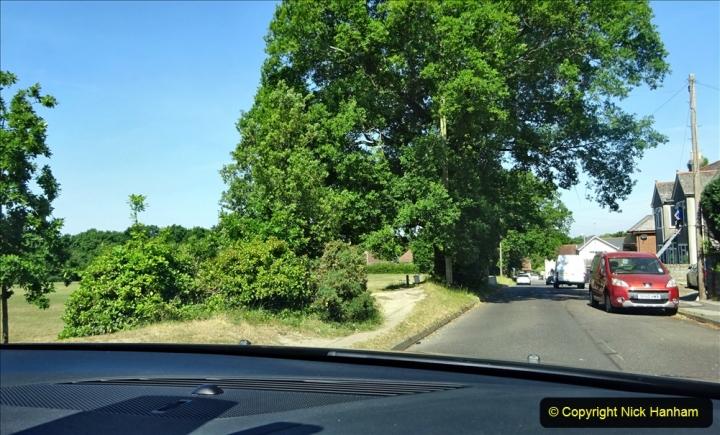 2020-05-27 Covid 19 Walks Alum Chine - Robert Louis Stevenson - View Point - Parkstone Heights. (111) 111